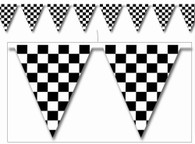 Checkered Flag Bunting Banner | Beistle Creation