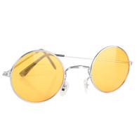 60's Lennon Hippy Style Coloured Glasses   Trademart