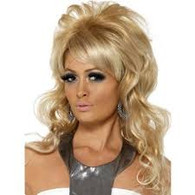 1960's Beauty Queen Blonde Wig | Smiffy's