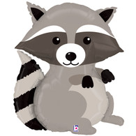 Foil Supershape Woodland Raccoon Balloon | Betallic