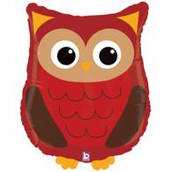 Foil Supershape Woodland Owl Balloon | Betallic