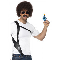 Leather Look Shoulder Holster | Smiffy's