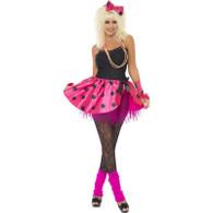 80's Instant Pink Tutu Kit | Smiffy's