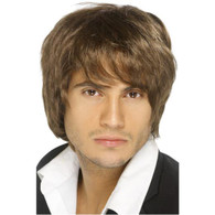 Boy Band 90's Brown Wig | Smiffy's