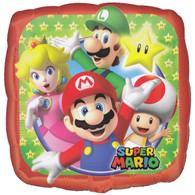 1990's Super Mario Square Foil Balloons