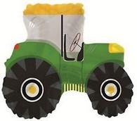 Foil Supershape Green Farm Tractor Balloon | CTI Industries