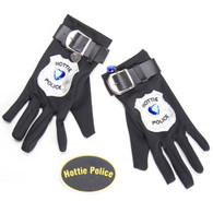 Dr Tom's Black Gloves & Badge Hottie Police Kit
