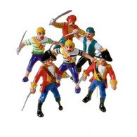 Pirates for Birthday Cakes Pack of 6