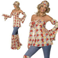 1970's Vintage Hippy Costume | Smiffy's