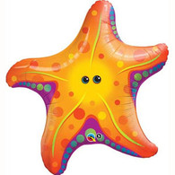 Foil Supershape Starfish  Balloons | Qualatex