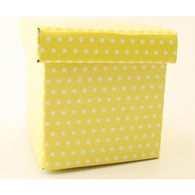 Contents Yellow Polka Dot Party Topiary Boxes