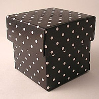 Contents Black Polka Dot Party Topiary Boxes