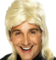 1980's Mullet Blonde Wig | Smiffy's