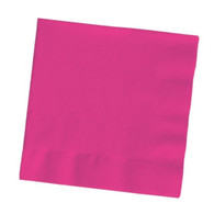 Premium Cocktail Napkins Hot Magenta | Touch of Color