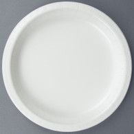 Premium Luncheon Paper Plates White | Touch of Color