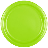 Premium Luncheon Paper Plates Fresh Lime | Touch of Color