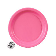 Premium Snack Paper Plates Candy Pink | Touch of Color