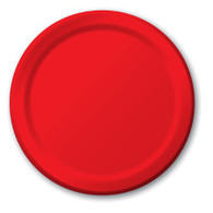 Premium Luncheon Paper Plates Classic Red | Touch of Color