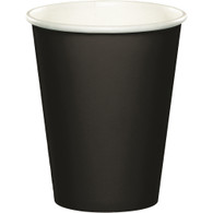 Premium Hot/Cold Paper Cups Black Velvet | Touch of Color