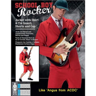 School Boy AC/DC Rocker | Karnival Costumes