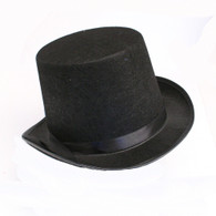 Black Feltex Top Hat | Dr Tom's