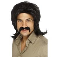 70's Brown Retro Wig | Smiffy's