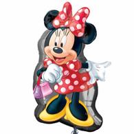 Foil Supershape Minnie Mouse Full Figure Balloon   Disney