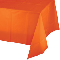 Premium Plastic Tablecover Sunkissed Orange | Touch of Color