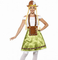 Oktoberfest Bavarian Maid Costume | Smiffy's
