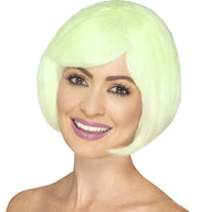Bob Party Glow in the Dark Wig | Smiffy's