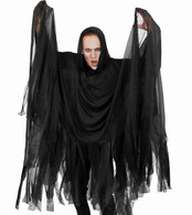 Reaper Cape with Hood Black | Dr Tom's