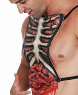 Blood & Guts Latex Chest Outfit | Dr Tom's