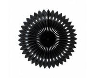Hanging Fan Black 40cm | Five Star Party Decor