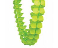 Honeycomb Garland Lime Green 4m | Five Star Party Decor