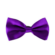 Bowtie Satin Purple | Party Time