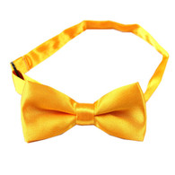 Bowtie Satin Bright Yellow | Party Time