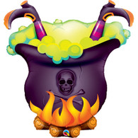 Foil Supershape Oops! Witches Brew Cauldron Balloon | Qualatex