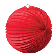 Accordion Lantern 35cm Red | Five Star Party Decor
