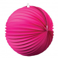 Accordion Lantern 35cm Magenta Pink | Five Star Party Decor