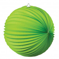 Accordion Lantern 35cm Lime Green | Five Star Party Decor