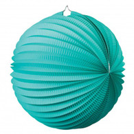Accordion Lantern 35cm Turquoise | Five Star Party Decor