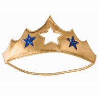 Wonder Woman Gold Plush Tiara | Forum Novelties
