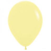 Latex Standard 30cm Pastel Yellow Balloons | Sempertex