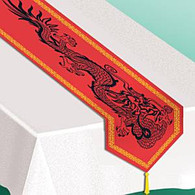 Chinese Dragon Table Runner | Beistle