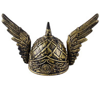 Bronze Winged Viking Helmet | Trademart