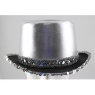 Caberet Silver Dance Hat | Trademart
