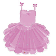 Foil Supershape Ballerina Tutu Balloon | Anagram
