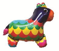 Foil Supershape Burro Donkey Balloon   Artwrap