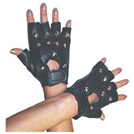 1980's Punk Rock Black Gloves | Smiffy's