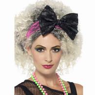 1980's Lace Popstar Headband | Smiffy's